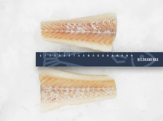 Cod fillet - frozen, skinless tail